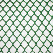 Пластиковая сетка Сетка пластиковая ромбическая, 50 × 50 мм