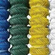 Плетеная сетка Сетка плетеная, покрытая ПВХ, в рулонах